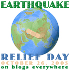 Earthquake Relief Day